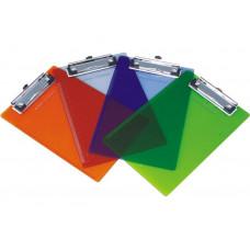 Планшет с зажимом А4 пластик прозрачный