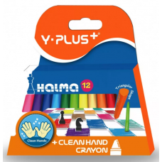 Пастель / цветные мелки 12цв Y-plus CR15030