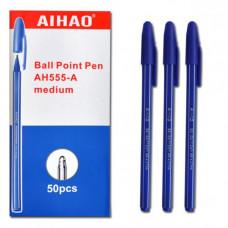 Ручка шарик, 555-A BPсиний стер