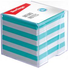 """Блок для записи Berlingo """"Standard"""", 9*9*9см, пластиковый бокс, цветной"""