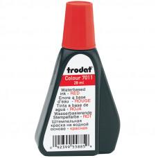 Мастика (краска штемпельная) Trodat, 28мл, красная