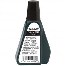 Мастика (краска штемпельная) Trodat, 28мл, черная