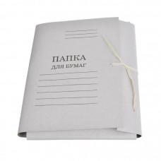 Папка для  бумаг на веревке (Вектор)