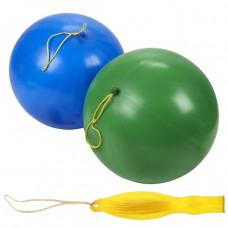 Шары цв, в наборе Punch Ball Balloons боль. с резинкой п/50шт