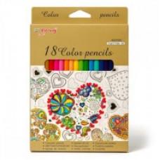 Карандаши цветные  YL817150-18