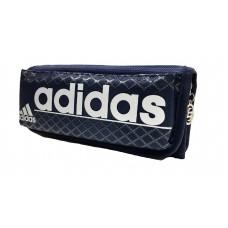 Пенал 2 отд.+ 2 кармана, ткань,  в блистере1506 (Adidas)