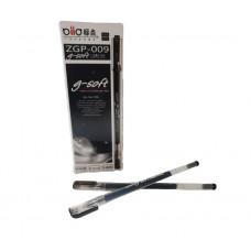 Ручка гелевая ZGP-009 черный стержень 0,5мм
