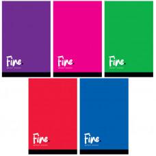 """Блокнот А7 48л. на склейке ArtSpace """"Моноколор. Fine color"""""""