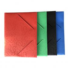 Папка на резинке цветные 1296 /2448