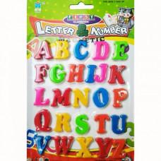 Магнитные буквы английские, большие, XI QI 8449