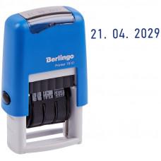 """Датер ленточный Berlingo """"Printer 7810"""", пластик, 1стр., 3мм, банк, блистер"""