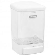 Диспенсер для жидкого мыла OfficeClean Professional, наливной, ABS-пластик, механический, белый, 1л