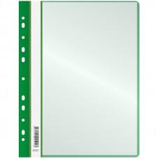 Папка зеленая синяя 10 файловая с перфорацией HuaHang
