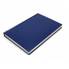 Ежедневник недатированный синий А5,136 листов клетка 2520