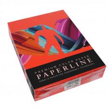 Цв бумага офисная А4 80 гр/500л №250 RED красная Paperline