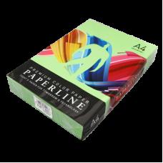 Цветная бумага офисная А4 80 гр/500л №230 PARROT - темно - зеленая Paperline