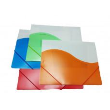Папка на резинке цветные 988/4161