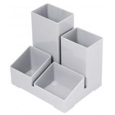 Органайзер  без наполнения пластиковый серый/черный