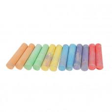 Мел цветной 12шт Dingli 7511-10