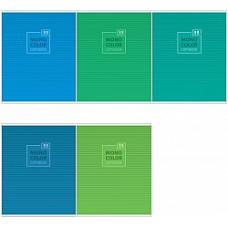 "Тетрадь 96л., А5, линия ArtSpace ""Моноколор. Blue&Green"""