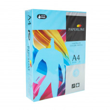 Цветная бумага офисная А4 80 гр/500л №120  OCEAN - Голубая Paperline