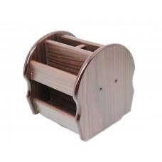 Органайзер без наполнения, деревянный крутящящийся, XH-5026