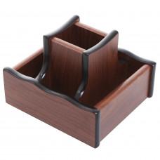 Органайзер без наполнения, деревянный крутящийся, XH-5022