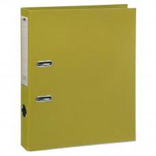 Папка - регистратор 50 мм  желтый LeTianWang