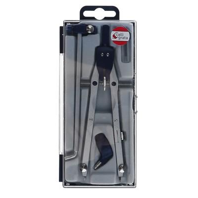 Готовальня пластик, упаковка 4 предмет 804А