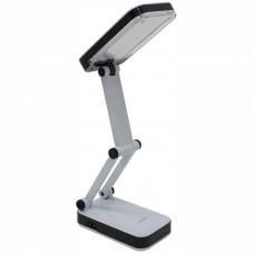 Светильник настольный на подставке SmartBuy, 4Вт, LED, рег. яркости, аккумулятор, черный/белый