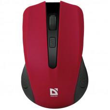 Мышь беспроводная Defender Accura MM-935, красный, 4btn+Roll