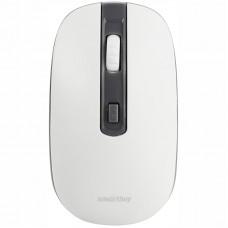 Мышь беспроводная Smartbuy ONE 359AG-WG серый, белый, 2btn+Roll