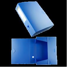 Короб архивный пластиковый 0,8 голубой US-400A