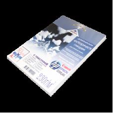 Фотобумага для струйной печати A4 Дизайнерская Кожа глянц 230/50л
