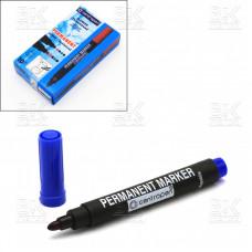 Маркер перманентный Centropen синий