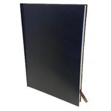 Ежедневник недатированный черный А5,136 листов клетка 2520